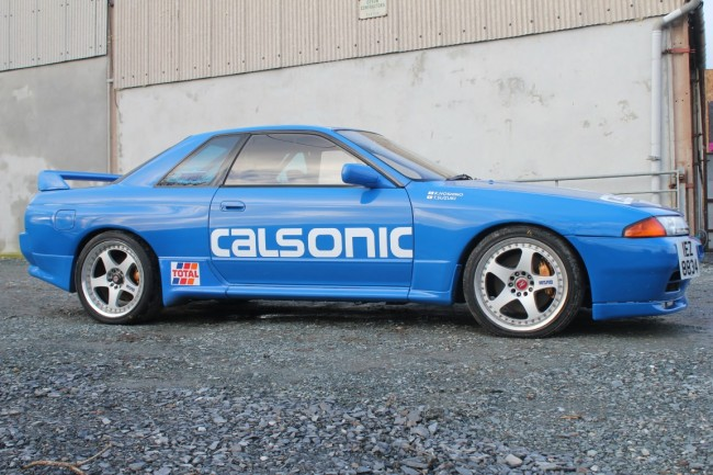 nissan skyline  gtr calsonic replica jap imports uk