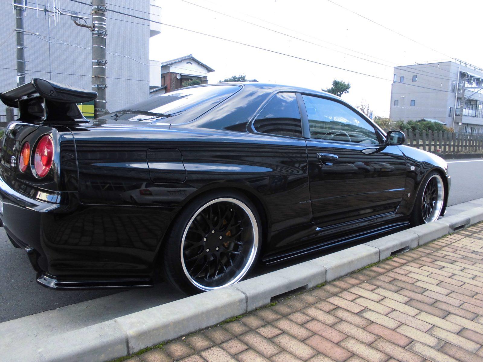 Nissan Skyline R34 Gtr Rb26dett Jap Imports Uk
