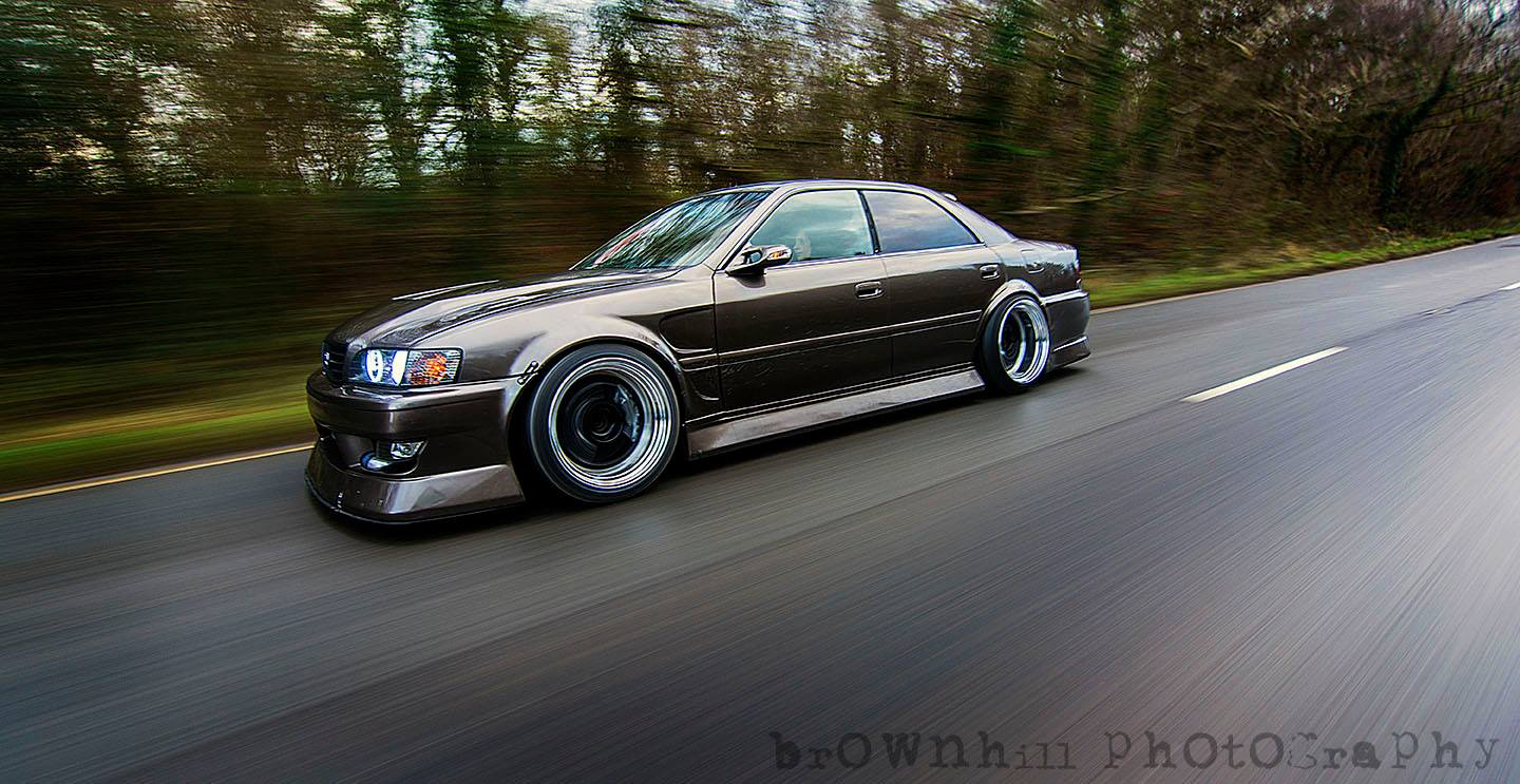1997 Toyota Chaser JZX100 Show Car Jap Imports UK